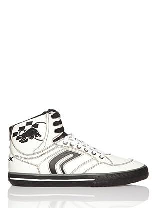Geox Zapatillas (blanco / negro)