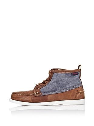 Sebago Zapato Náutico Denim (Marrón Claro / Denim)