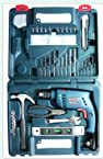 BOSCH Impact Drill GSB 10 RE Professional - 10 MM Reversible, Vari - Speed + 100 Pcs Accessory Kit