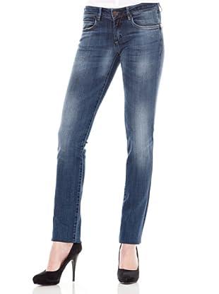 Calvin Klein Jeans Vaquero 5 Bolsillos (Azul Medio Used)