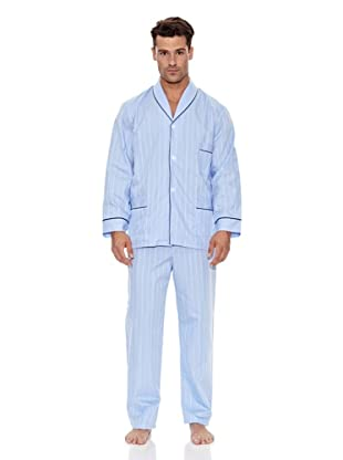 Plajol Pijama Caballero Satén (Azul)