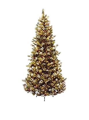 National Tree Company 7.5' Glittery Pine Hinged Tree