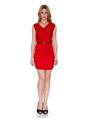 Salsa Vestido Gardena Slim (Rojo)