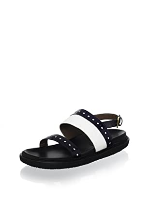 Marni Women's Footbed Sandal (Blue/Lily)