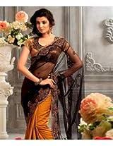 Net Saree with Blouse