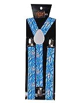 Tiekart Mens Suspender (Sus229_Blue)