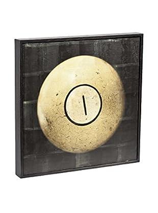 Chris Dunker for Phylum Design Billiard Ball 1, Encaustic Photograph