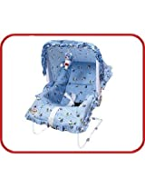 9 in One Carry Cot, Bouncer, Swing, Bath Tub, Rocker, Chair Etc. - Blue Color