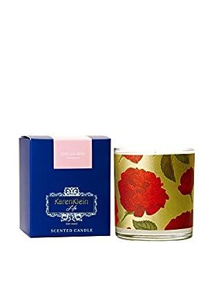 Karen Klein Life Florentine 10.25-Oz. Candle, Tuscan Rose