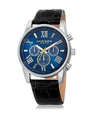 Akribos XXIV Uhr mit schweizer Quarzuhrwerk Man schwarz 41 mm