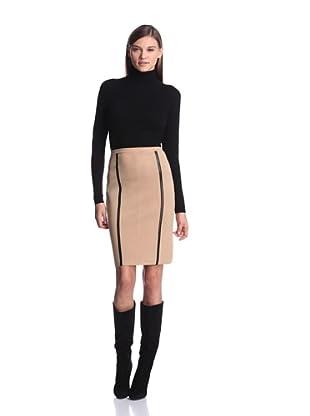 Calvin Klein Women's Sweater Skirt (Tan)