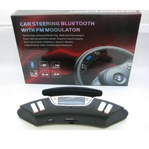 Car Steering Bluetooth With FM Modulator Car Bluetooth With Handsfree BH-08
