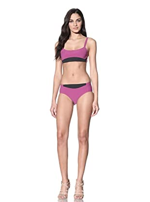 MARNI Women's Bikini with Contrast Trim (Dry Rose)