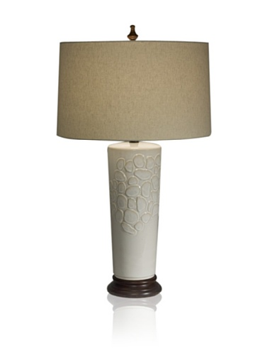 Aqua Vista Ambrosia Table Lamp, White