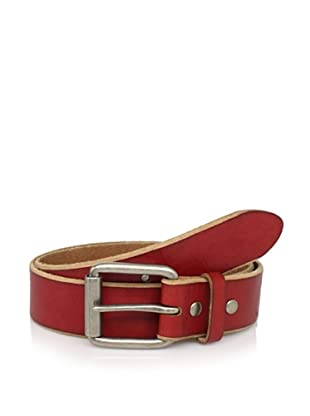 Bill Adler Men's Jelly Bean Belt (Red)