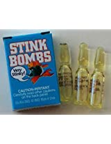 Stink Bombs Box of 3 Glass Viles