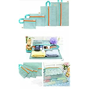 Shopping World Bag Organisr - Blue