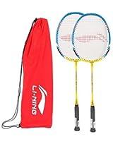 Li-Ning Badminton Racket Smash Xp Series With Extra Grip Pack Of 2*