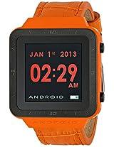 ANDROID Unisex AD721BRG SmartWatch GTS Digital Quartz Orange Watch