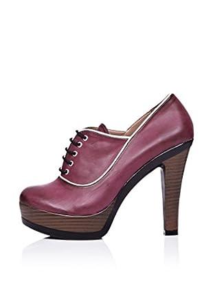 Ziya Zapatos Abotinados Cordones (Burdeos)