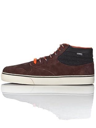 Element TOPAZ C3 ETM3L103A6090 - Zapatillas de deporte de ante para hombre (Marrón)