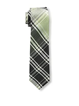 Gitman Blue Men's Plaid Tie, Black Multi