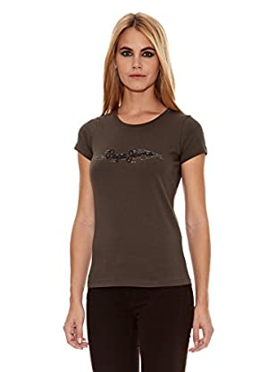 Pepe Jeans London Camiseta Ester (Caqui)