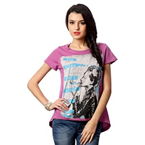 Graphic Printed Short Sleeved Top