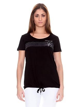 John Smith Camiseta Manga Corta Escribano (Negro)