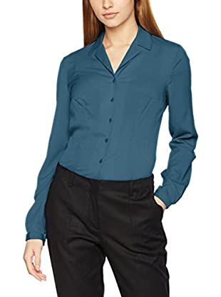 Nife Camisa Mujer Azul Petróleo L (EU 40)
