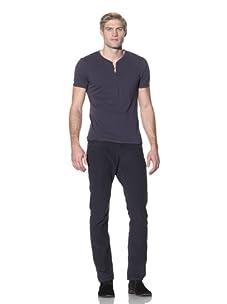 Benson Men's Berkeley Retro Corduroy Pants (Navy)
