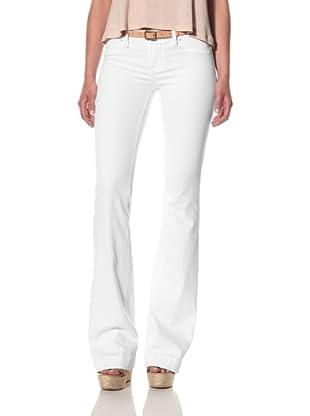 [BLANKNYC] Women's The Shoplifter Regular Rise Flare Jeans (White Lines)