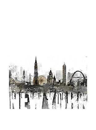Especial Deco Vertical Wandbild New York