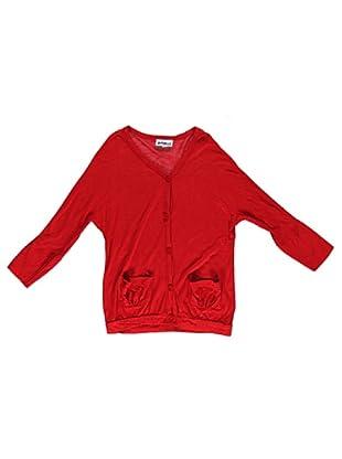 Cárdigan Fiammato (Rojo)