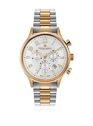 Mathieu Legrand Reloj con movimiento cuarzo suizo Woman Plateado / Dorado 42.0 mm