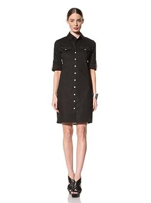 +Beryll Women's Shirt Dress (Black)