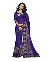 Tagbury Chiffon Saree (Vishal 2989 _Purple)