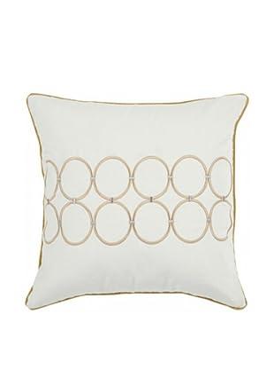 Surya Linked Circle Decorative Pillow