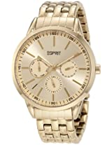 Esprit Napa Gold Analog Gold Dial Women's Watch ES104432007