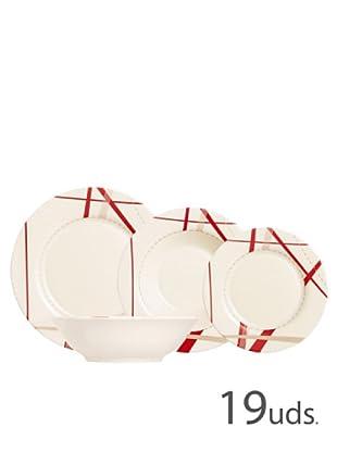 Luminarc Vajilla Redonda 19 Piezas Modelo Couture