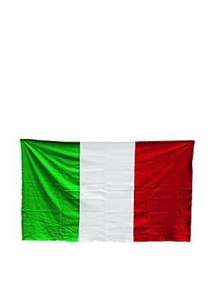 Seletti Italy Cotton Flag, Green/White/Red
