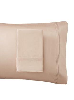 Windsor 600 Thread Count Pillowcase Set (Light Taupe)