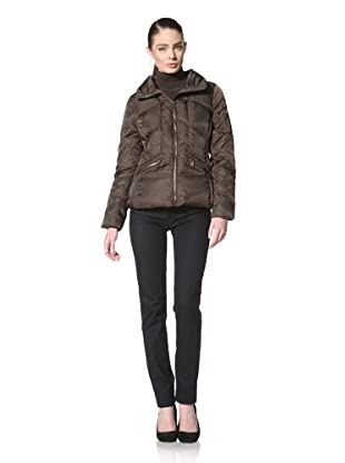 Andrew Marc Women's Edge Down Jacket (Espresso)