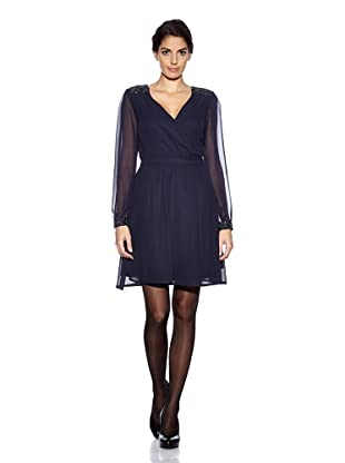 Uttam Boutique Kleid Wrap (Navy)