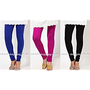 WOMEN LEGGINGS STRECHEBLE 3 COMBO PA4CK FOR VERY LOWEST2 PRICE