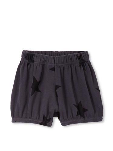 NUNUNU Baby Star Yoga Shorts (Dark Grey)