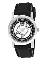 Ego by Maxima Analog Black Dial Men's Watch - (E-01084PAGC)