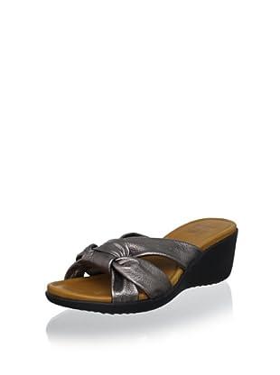 Cougar Women's Meg Slide Sandal (Pewter Metallic)