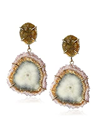 Melissa Joy Manning Druzy Agate & Stalactite Earrings