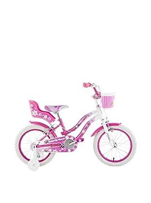 Schiano Cicli Bicicleta 14 Butterfly 01V. Blanco / Rosa